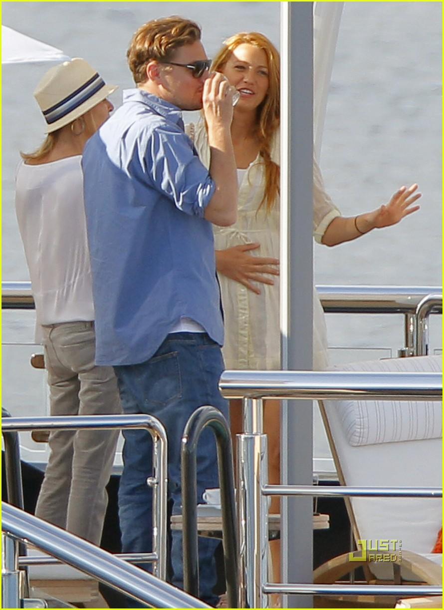 Leonardo Dicaprio Blake Lively Were On A Boat Photo 2544900