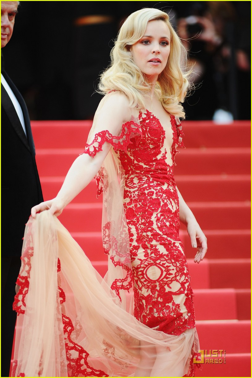 rachel mcadams ravishing red cannes 012542919