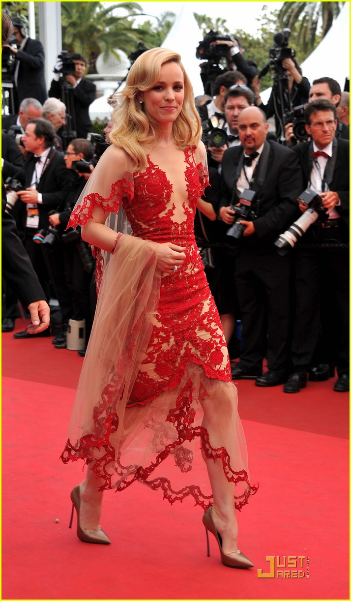 rachel mcadams ravishing red cannes 142542962