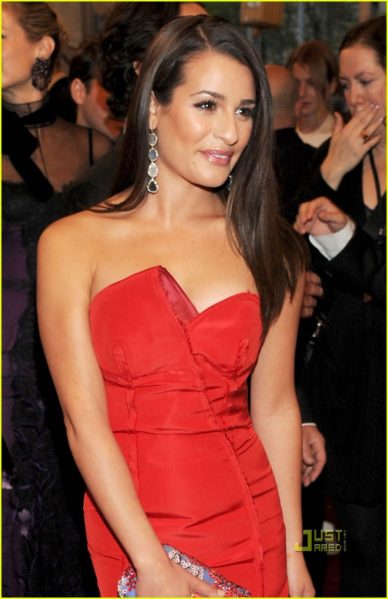 lea michele 2011 met ball 02