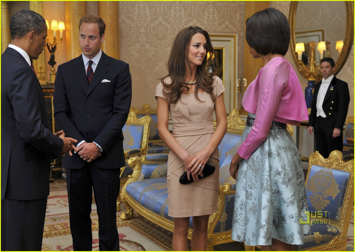 kate middleton prince william meet obama 012546875