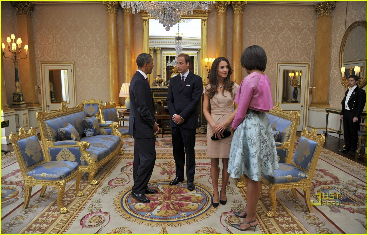kate middleton prince william meet obama 122546886