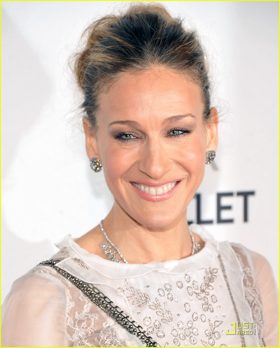 sarah jessica parker nyc ballet gala with matthew broderick 082543051