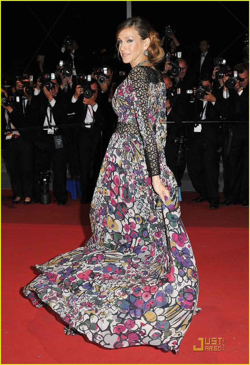 sarah jessica parker cannes wu xia premiere weinstein party 042543927