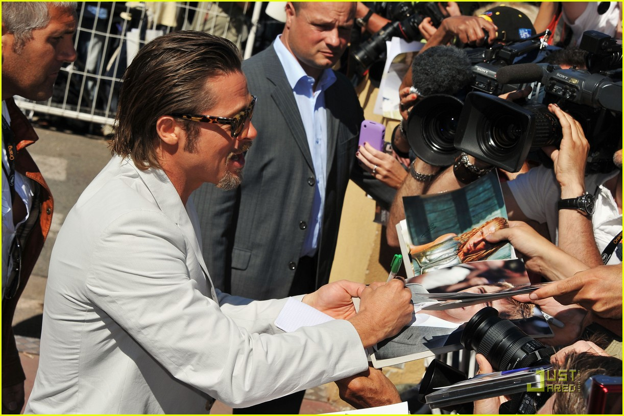 brad pitt cannes tree of life 10