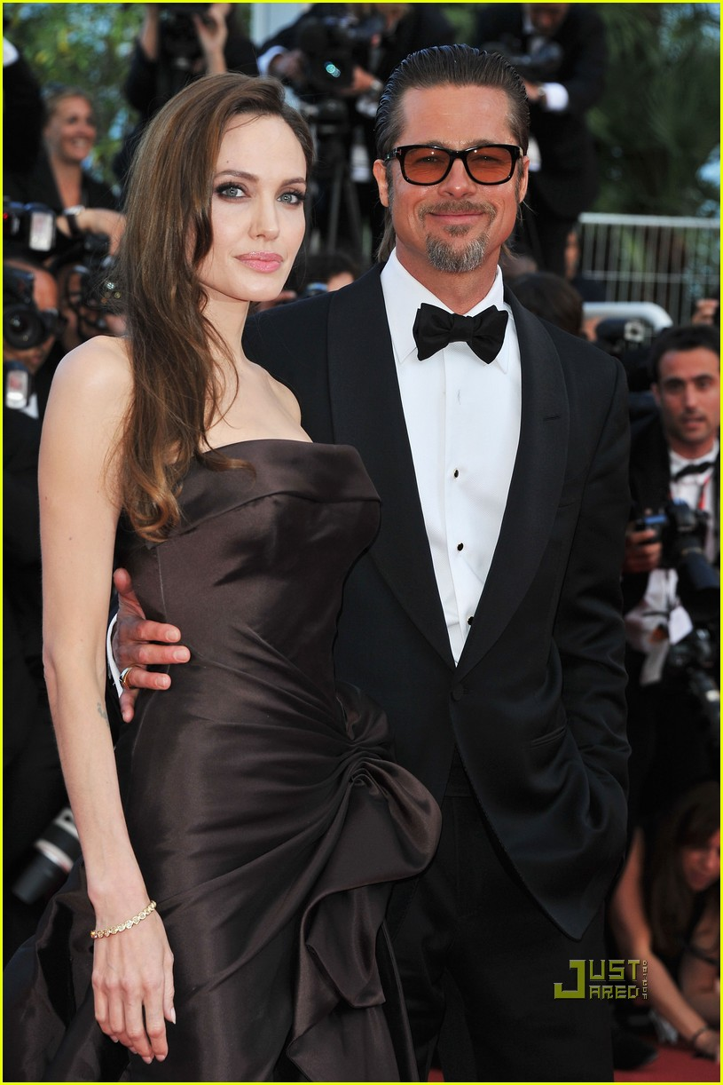brad pitt angelina jolie tree of life premiere 03