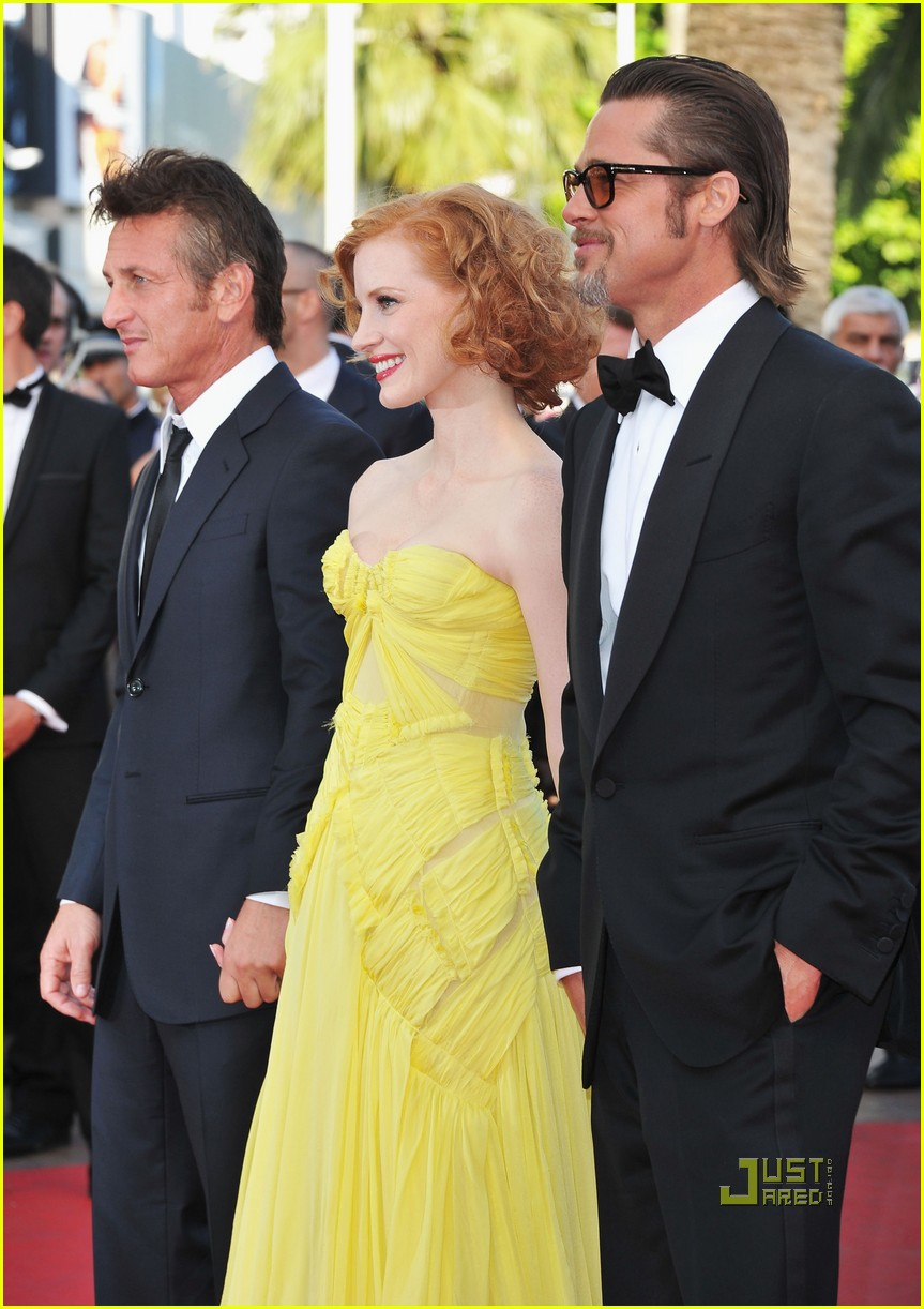 brad pitt angelina jolie tree of life premiere 042544573