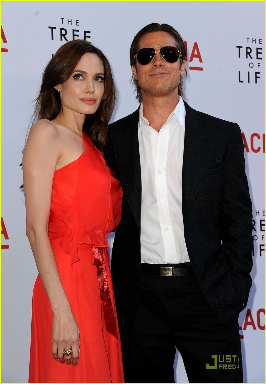 angelina jolie brad pitt tree life screening 10