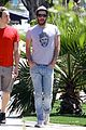 zachary quinto sunny stroll 01