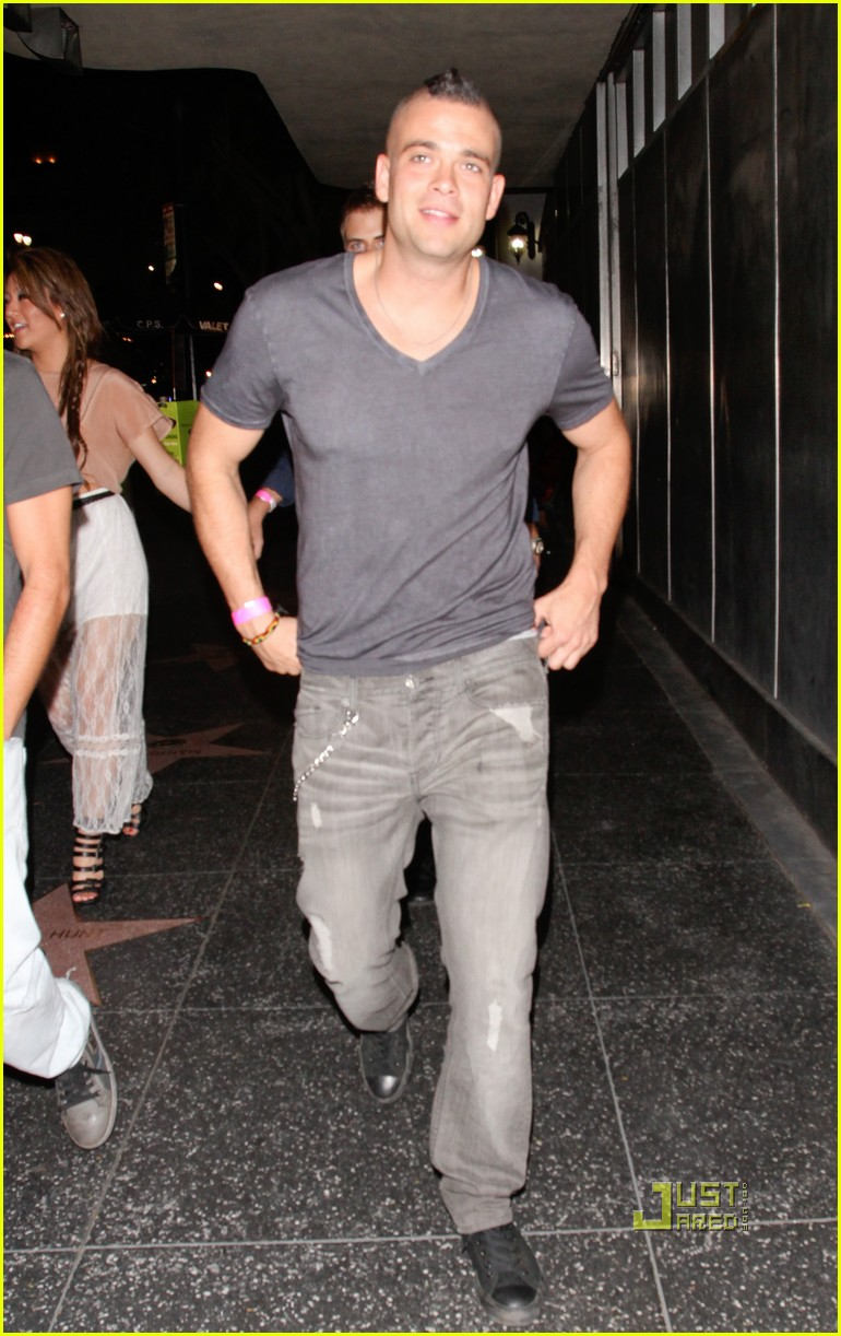mark salling night out hollywood 01