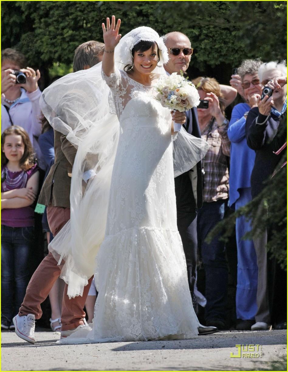 lily allen sam cooper wedding 012551421