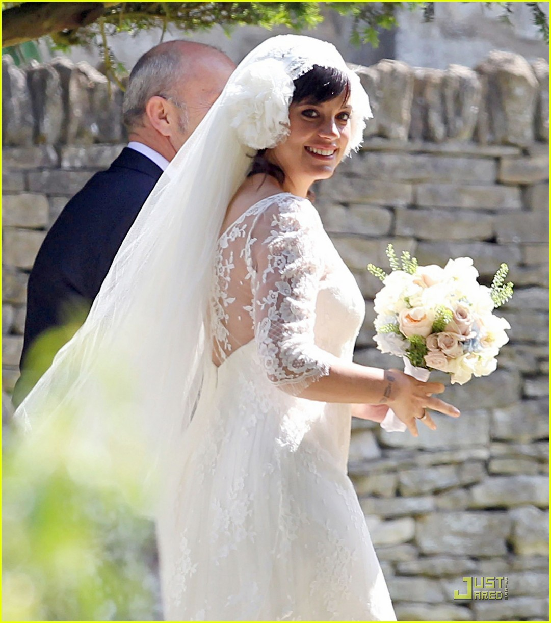 lily allen sam cooper wedding 05