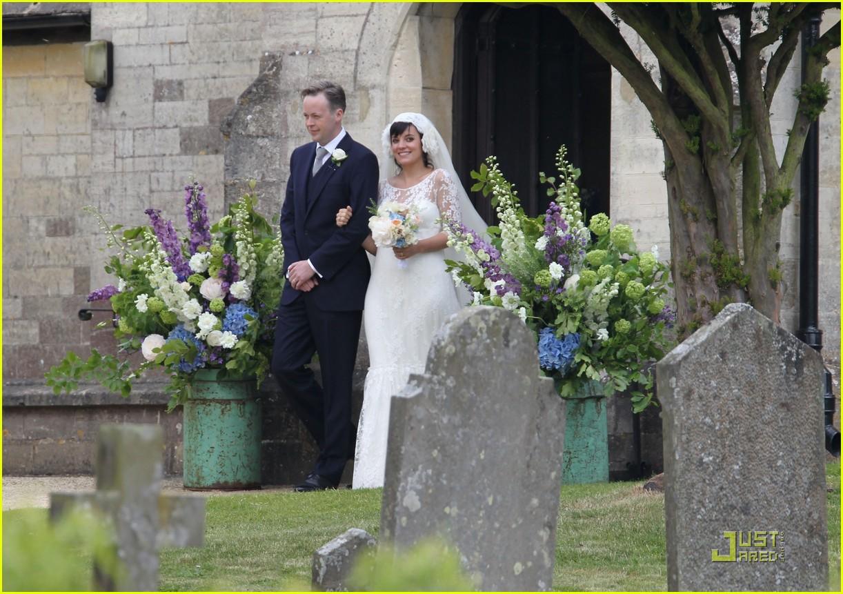lily allen sam cooper wedding 092551429