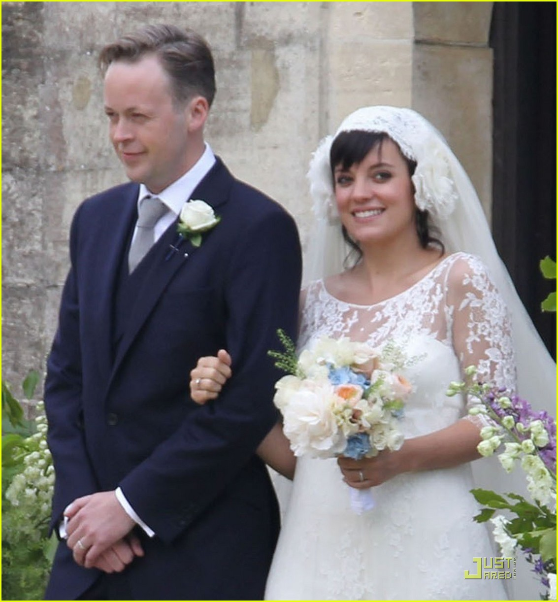 lily allen sam cooper wedding 102551430