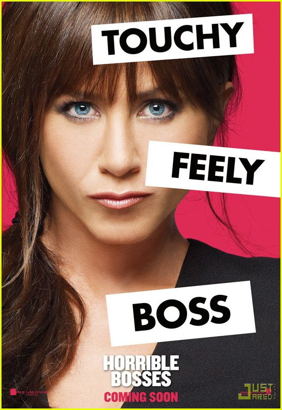 jennifer aniston horrible bosses posters 012548864