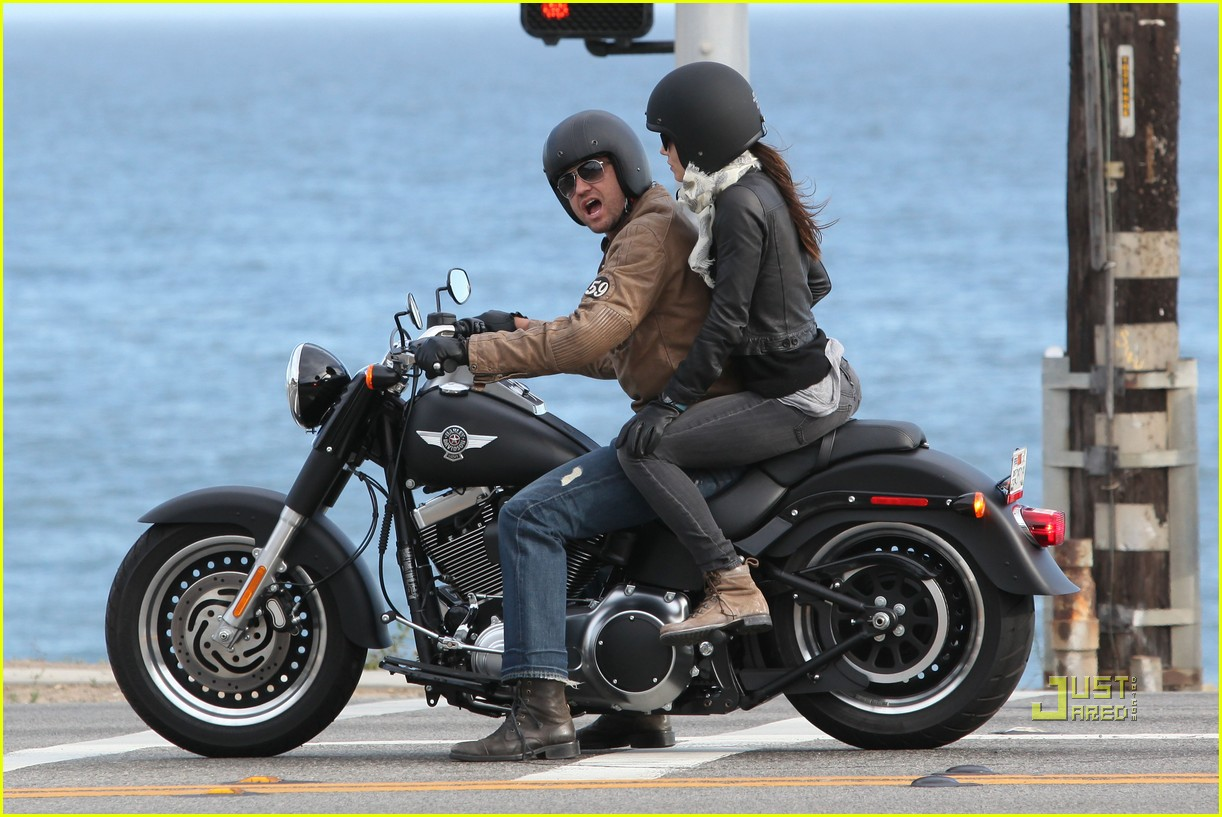 Full Sized Photo of jessica biel gerard butler motorcycle ... Gerard Butler From