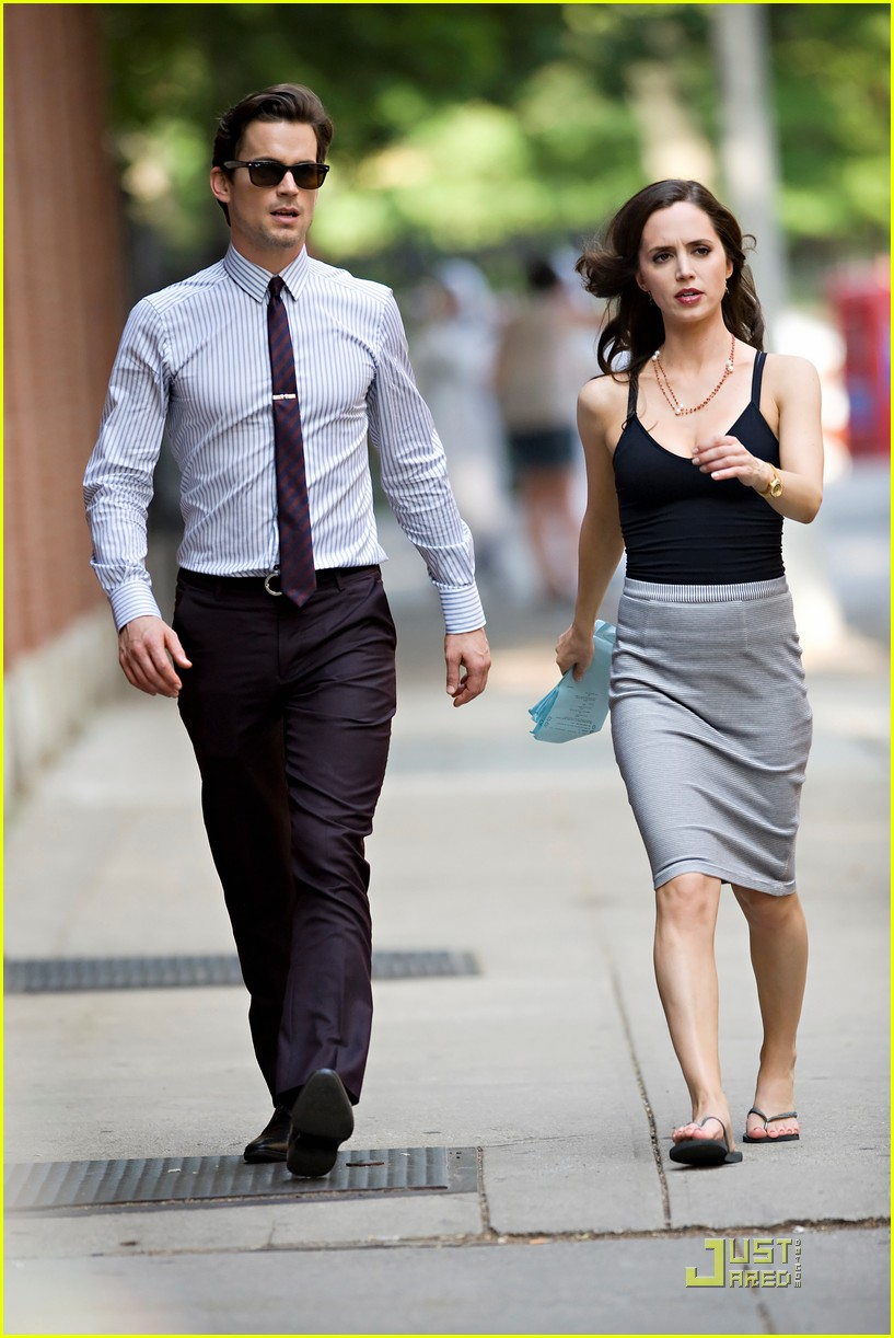 Matt Bomer: 'White Collar' Filming with Eliza Dushku!: Photo 2551131 | Eliza Dushku, Matt Bomer ...
