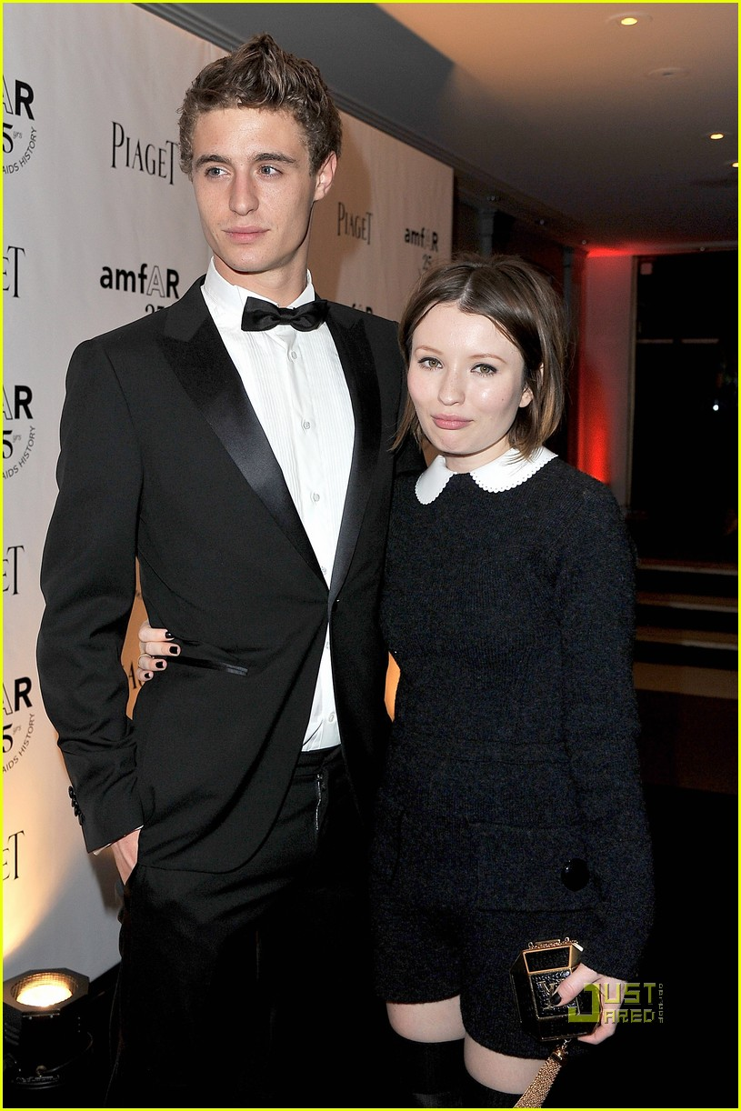 emily browning max irons amfar gala 13
