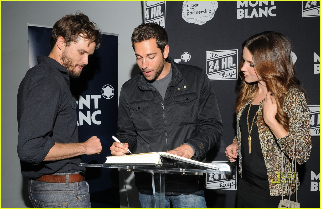 sophia bush austin nichols zachary levi 24 hour plays 012553547