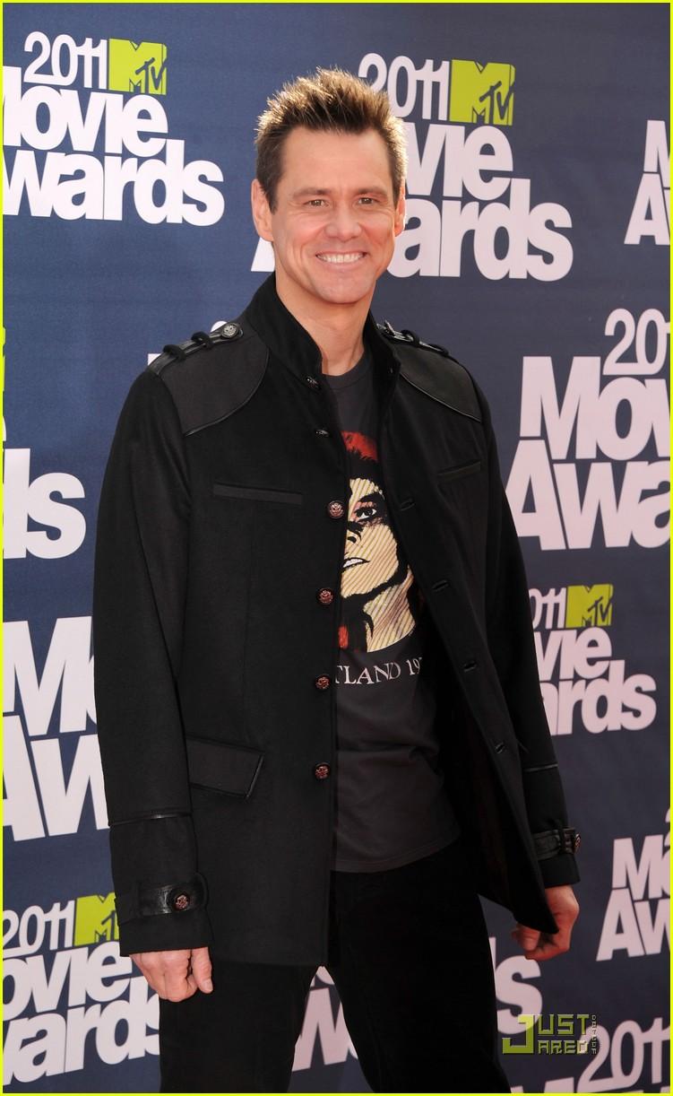 jim carrey mtv movie awards 2011 072549848