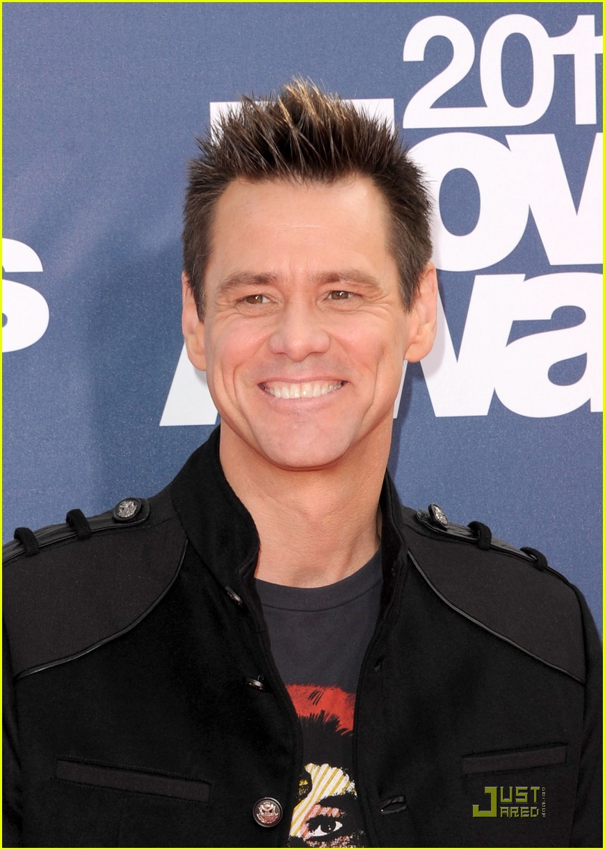 jim carrey mtv movie awards 2011 082549849