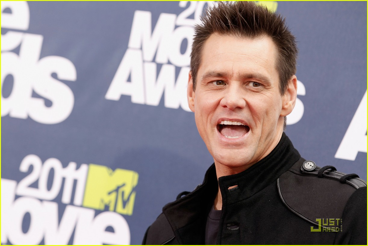 jim carrey mtv movie awards 2011 112549852