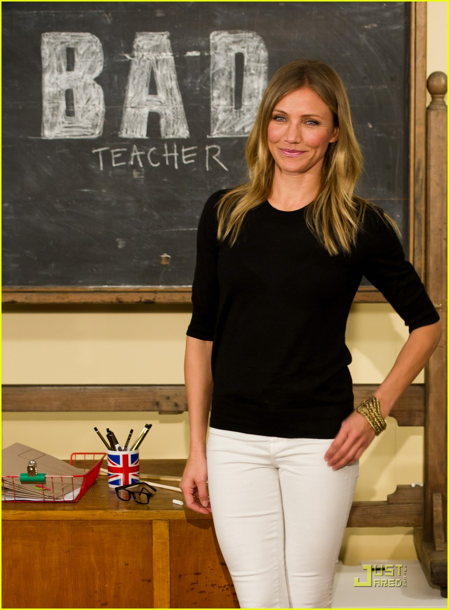 cameron diaz bad teacher london 13