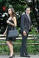 eliza dushku matt bomer white collar set 05