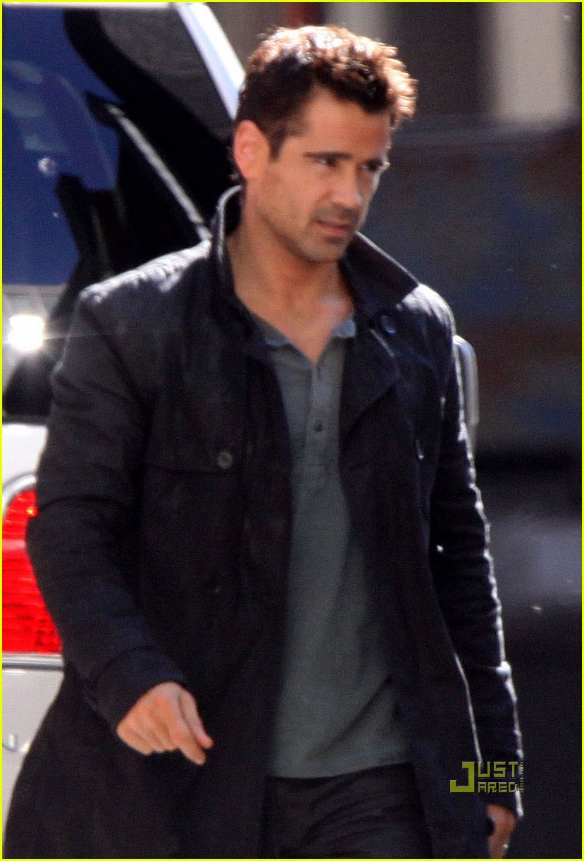Colin Farrell: 'Total Recall' in Toronto!: Photo 2552798 ...