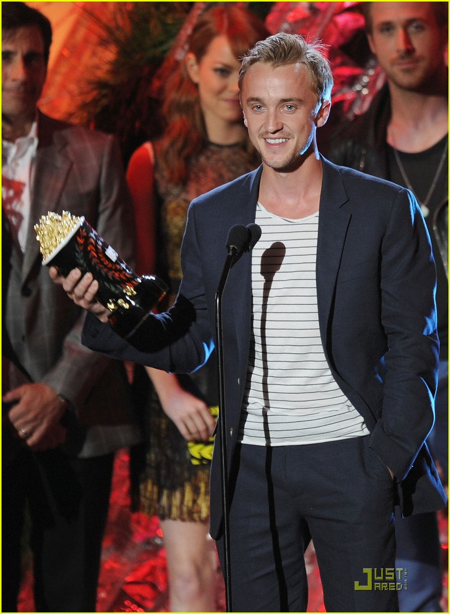 tom felton mtv movie awards 2011 03