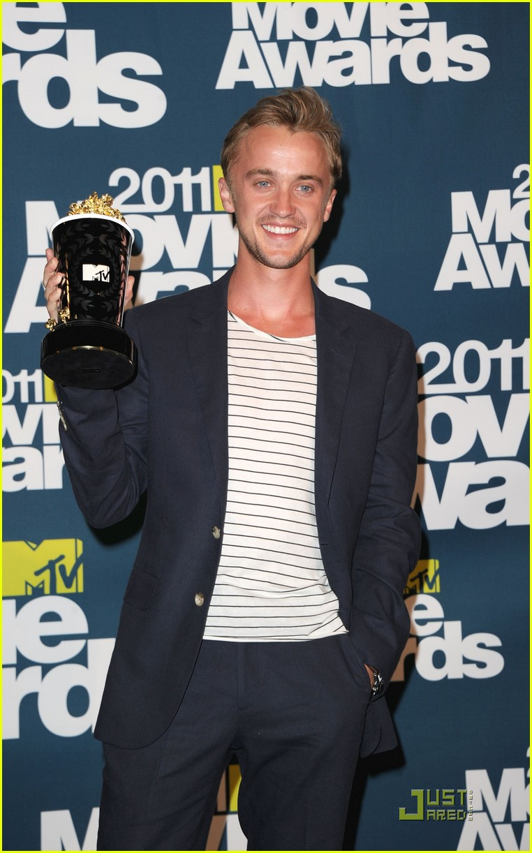 tom felton mtv movie awards 2011 05