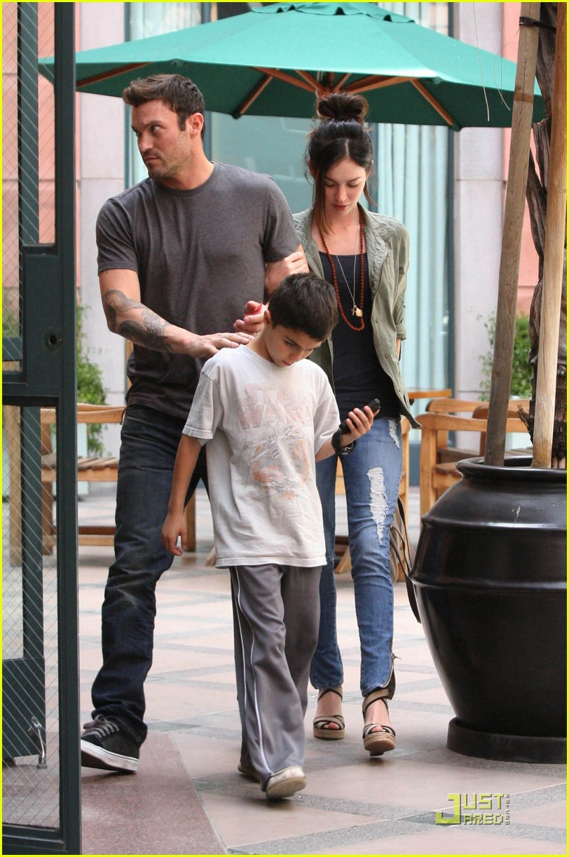 megan fox brian austin green salon with kassius 032549302