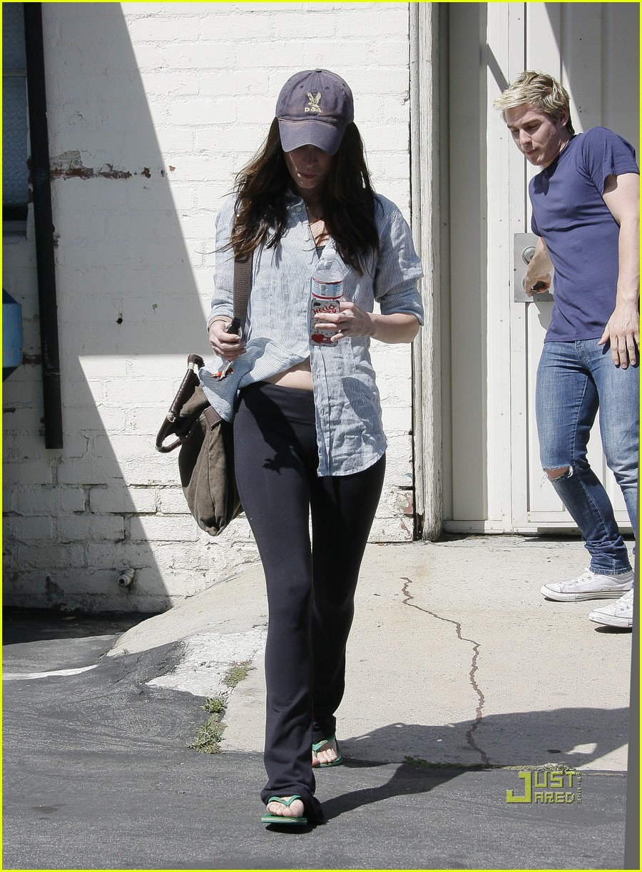 megan fox beverly hills salon 12