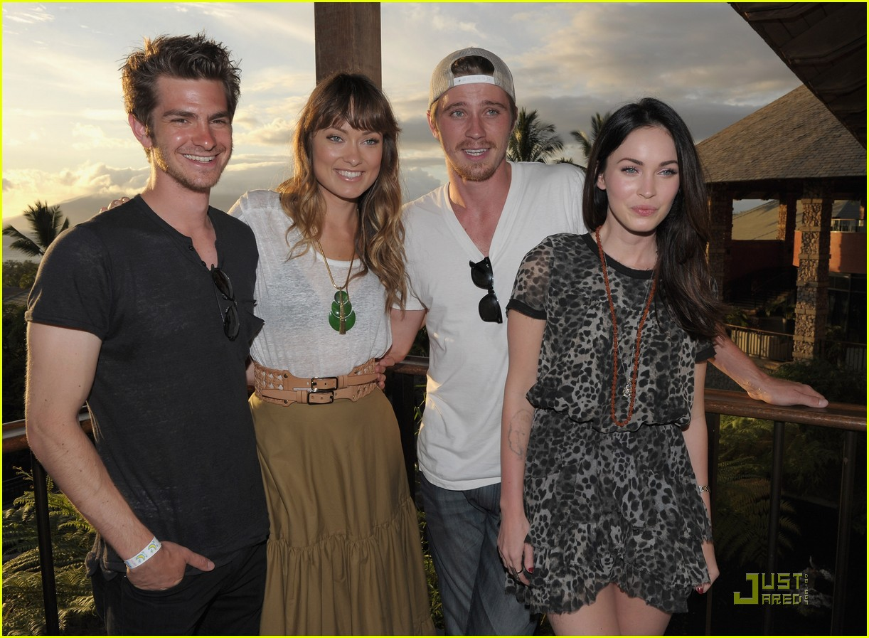 andrew garfield megan fox 2011 maui film festival 06