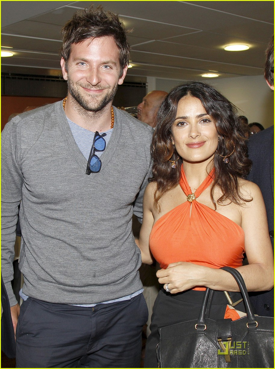 salma hayek bradley cooper french open 01