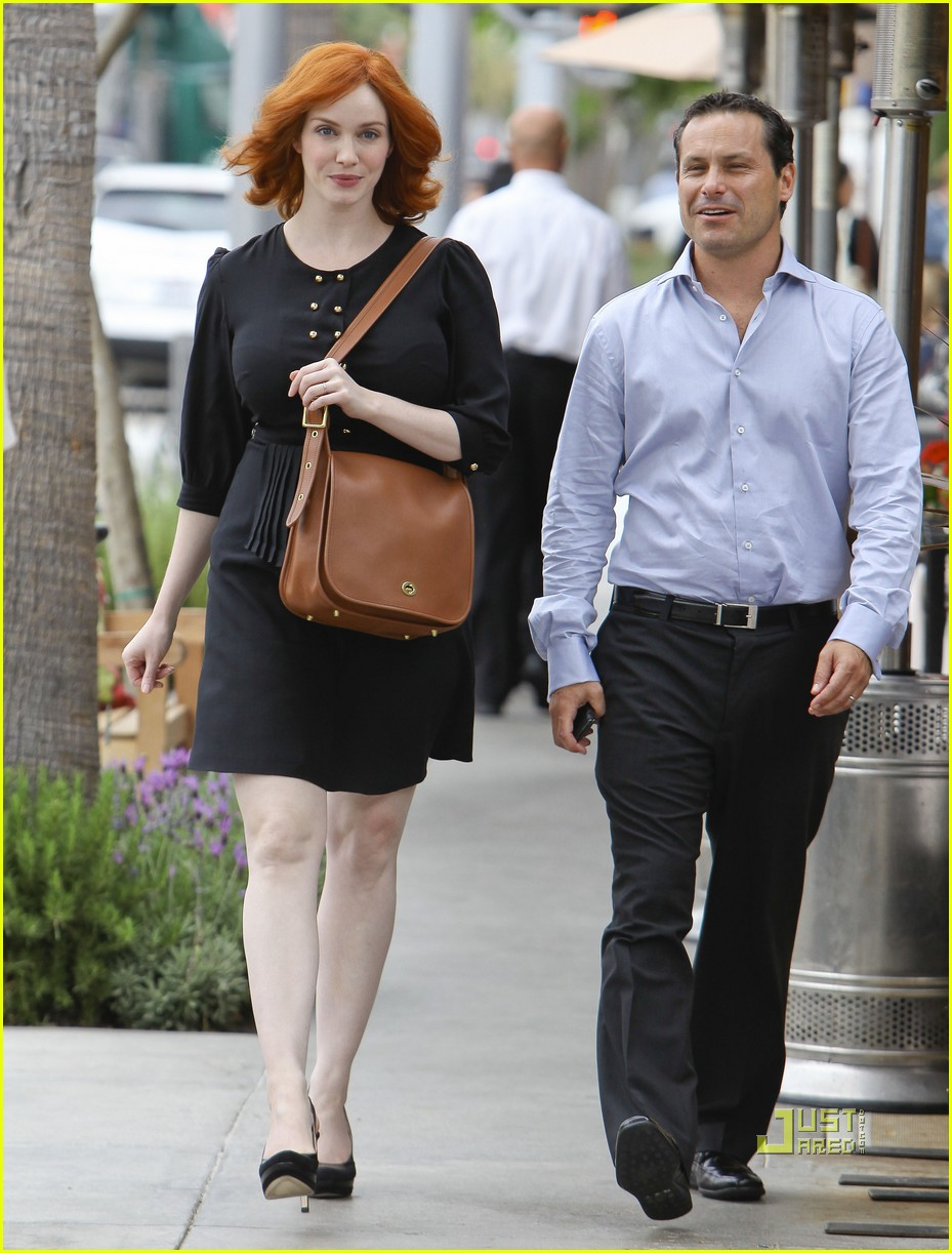 christina hendricks friend beverly hills 012552978