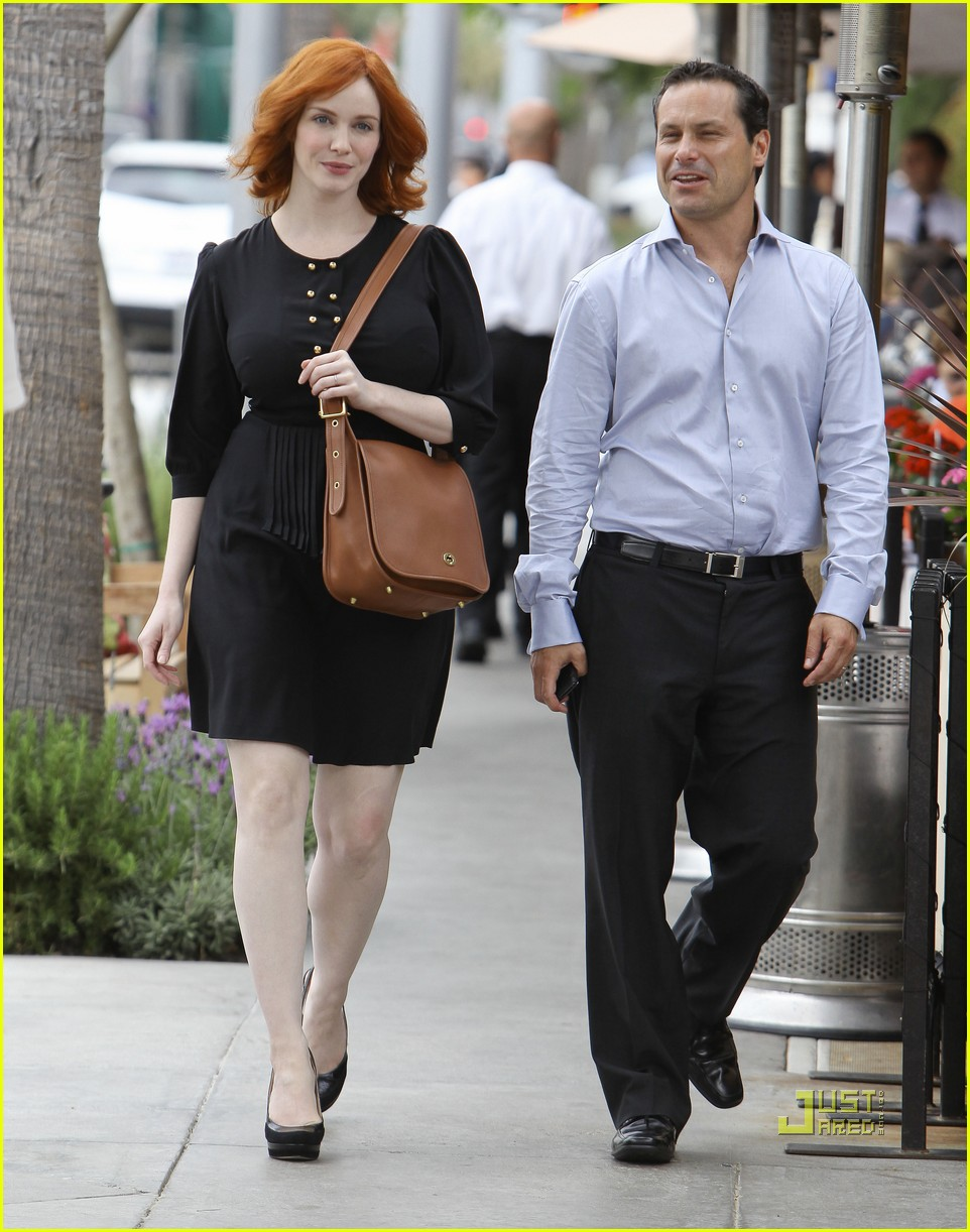 christina hendricks friend beverly hills 022552979