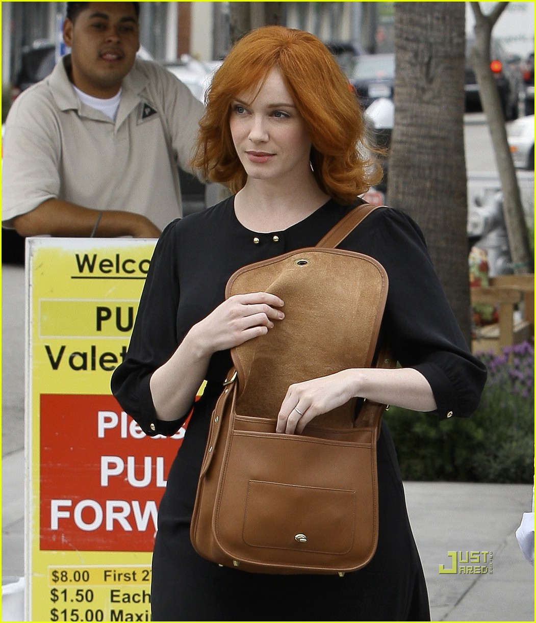 christina hendricks friend beverly hills 032552980