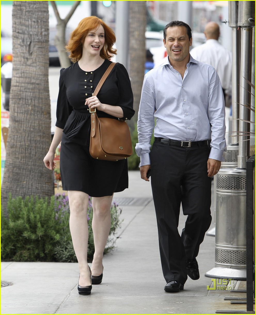 christina hendricks friend beverly hills 052552982