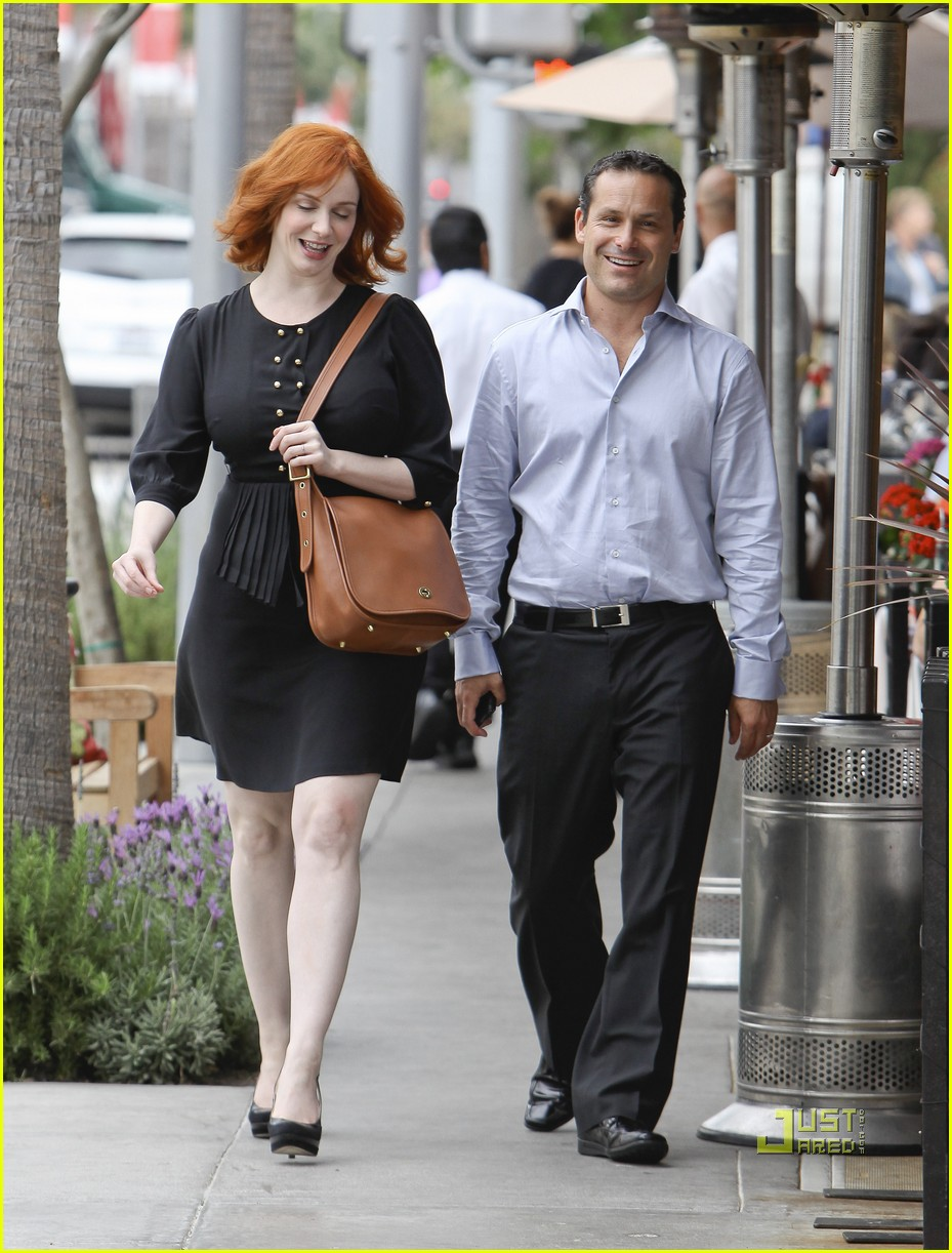 christina hendricks friend beverly hills 082552985