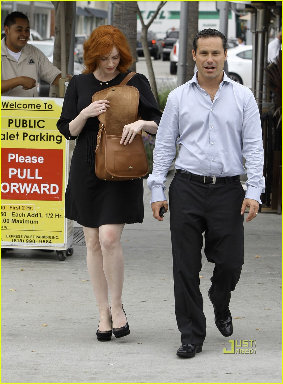 christina hendricks friend beverly hills 152552992