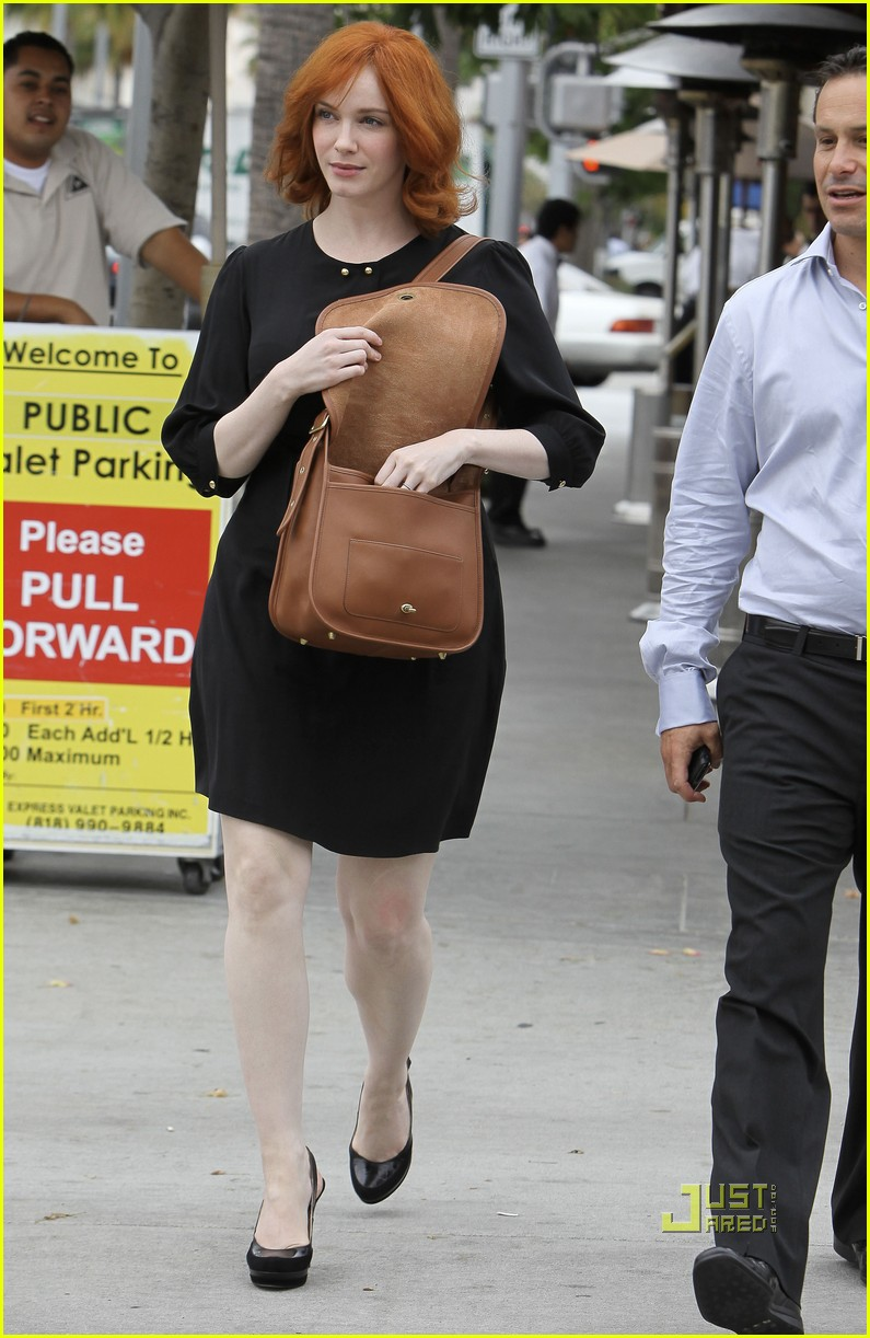 christina hendricks friend beverly hills 16