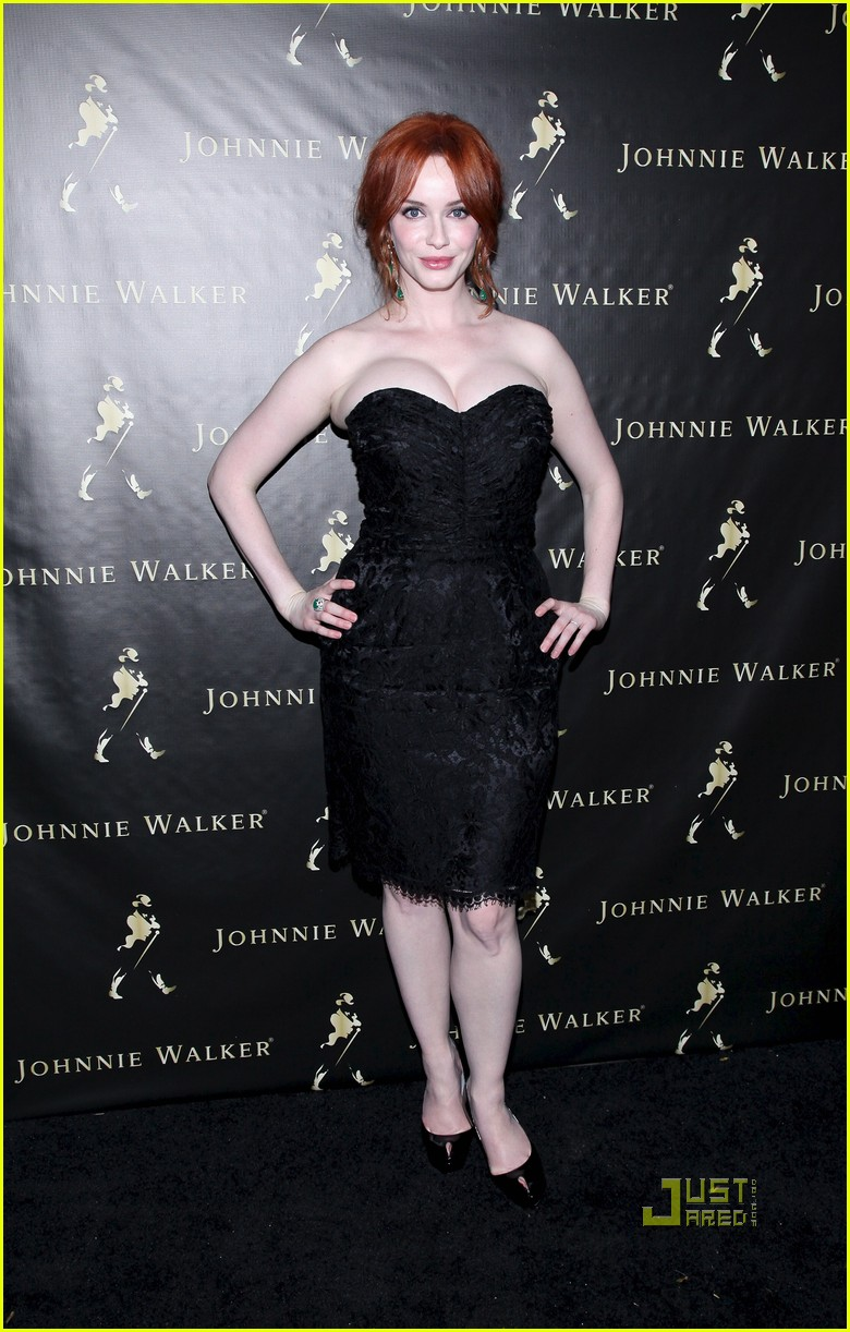 christina hendricks johnnie walker fathers day 012550953