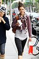 katie holmes cropped sweatshirt workout 03