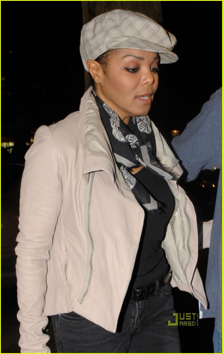 janet jackson out to dinner berlin 022554758