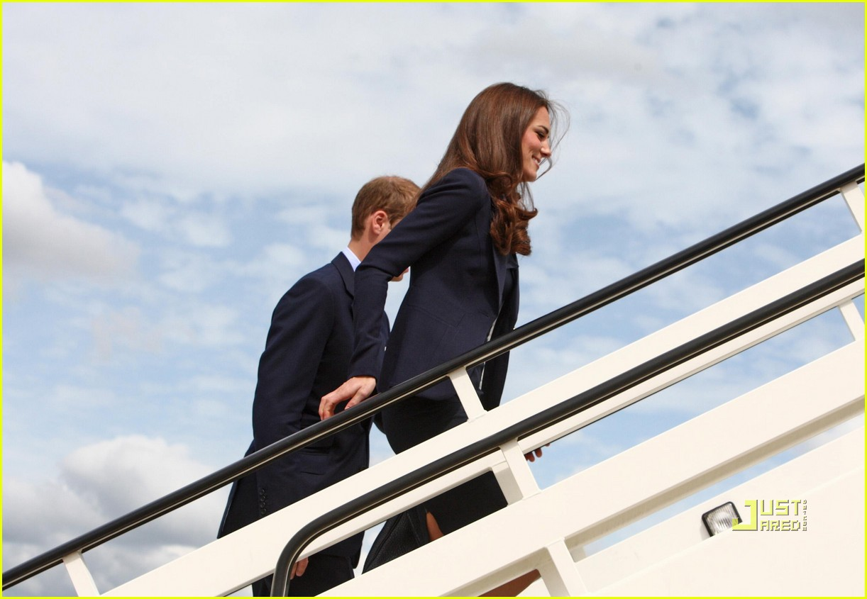 kate prince william fly to canada 072556501