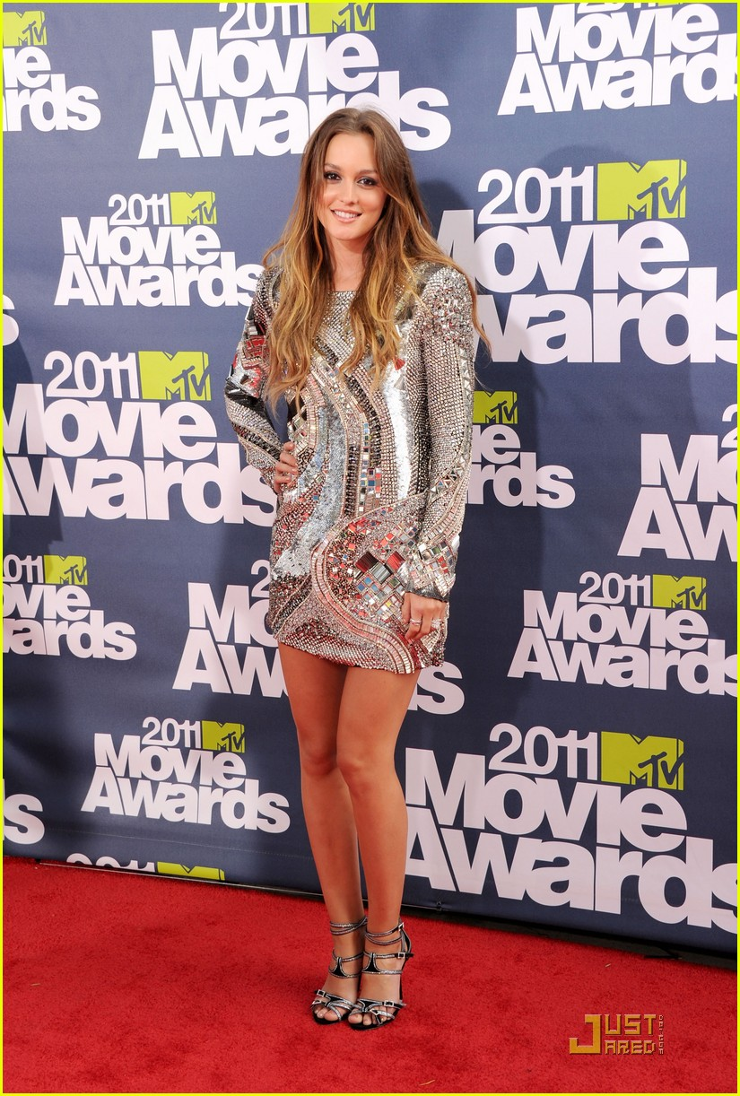 leighton meester mtv movie awards 2011 012549760