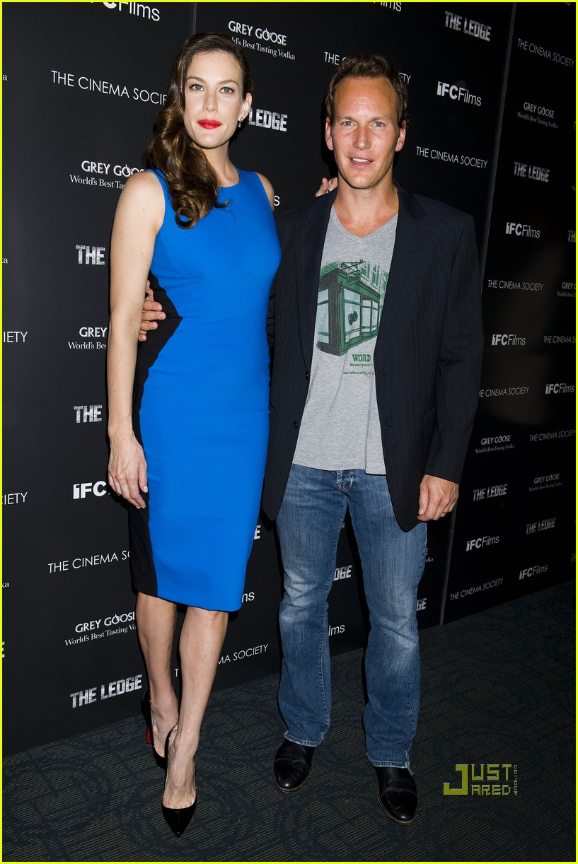 liv tyler patrick wilson ledge screening 18