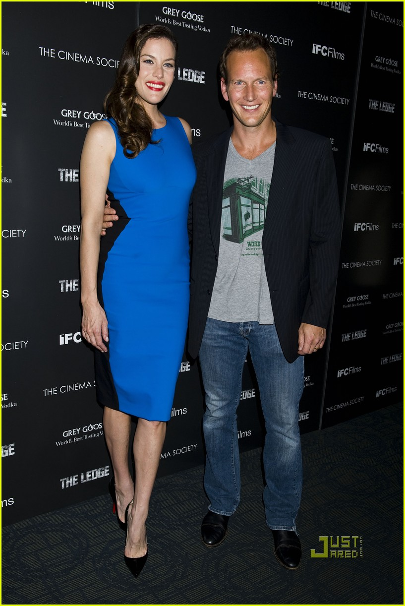 liv tyler patrick wilson ledge screening 192554466