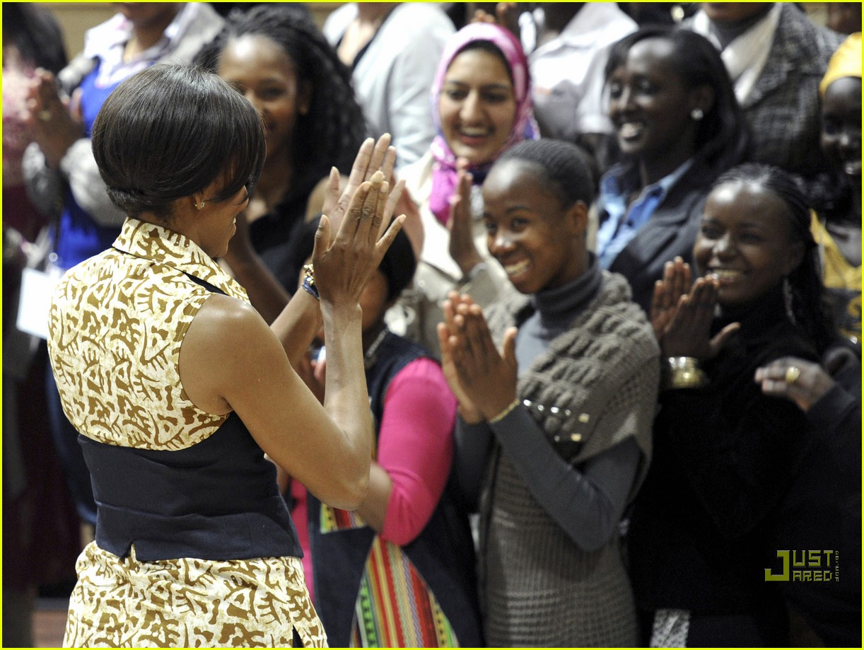 Michelle obama africa pictures Michelle Obama's School Lunches In Pictures: Is That